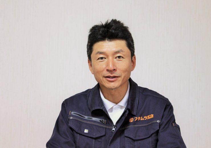 フタムラ瓦店代表,一級瓦葺技能士 二村 国彦